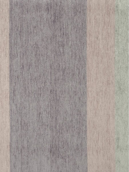 Petrel Vertical Stripe Chenille Fabric Sample (Color: Blue bell)