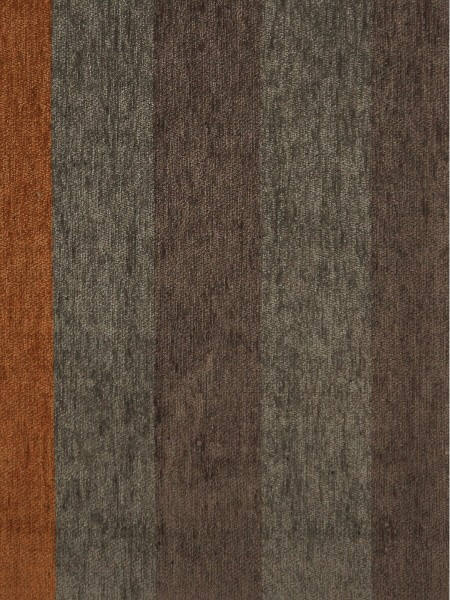 Petrel Vertical Stripe Chenille Fabric Sample (Color: Taupe gray)