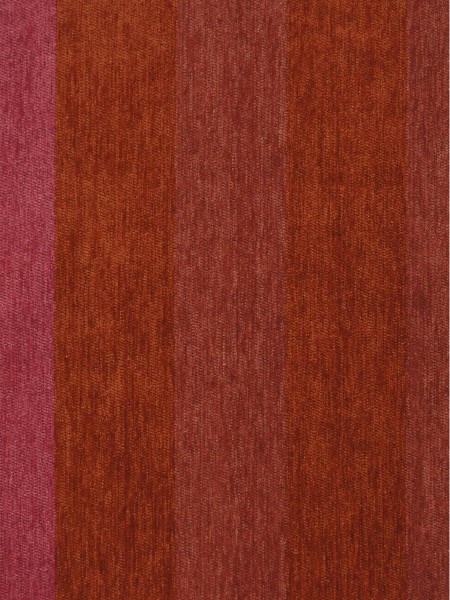 Petrel Vertical Stripe Chenille Fabric Sample (Color: Brilliant rose)