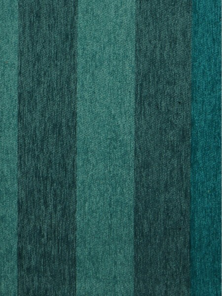 Petrel Vertical Stripe Chenille Fabric Sample (Color: Ocean boat blue)