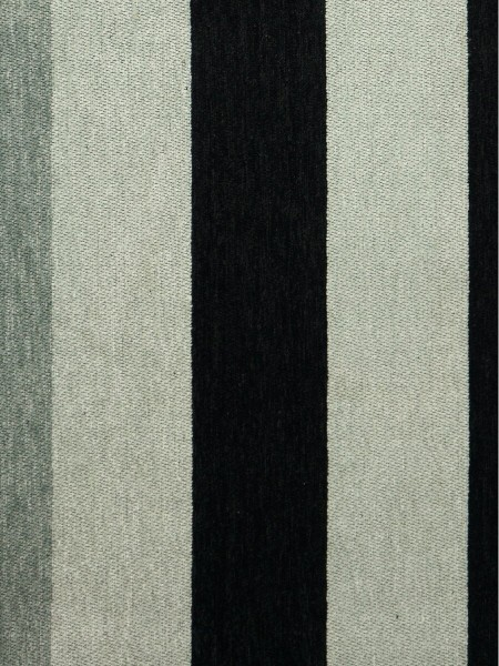 Petrel Vertical Stripe Chenille Fabric Sample (Color: Cadet grey)
