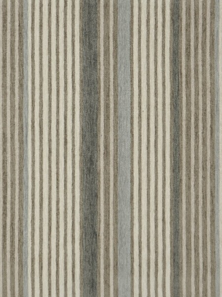 Petrel Heavy-weight Stripe Chenille Custom Made Curtains (Color: Timberwolf)