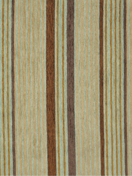 Petrel Heavy-weight Stripe Chenille Custom Made Curtains (Color: Indian yellow)