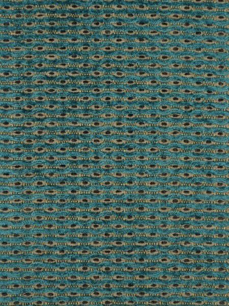 Coral Spots Yarn-dyed Chenille Fabric Sample (Color: Light sea green)