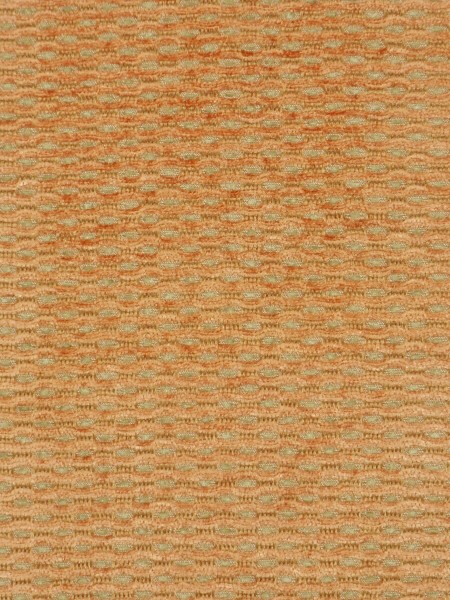 Coral Spots Yarn-dyed Chenille Fabric Sample (Color: Peach orange)
