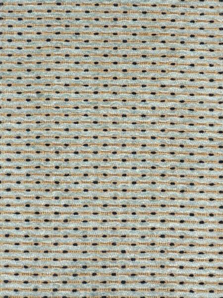 Coral Stylish Spots Chenille Fabric Sample (Color: Pale aqua)