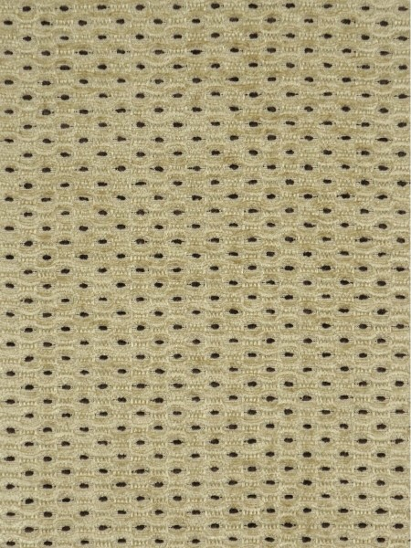 Coral Regular Spots Chenille Custom Made Curtains (Color: Pale goldenrod)