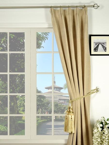 Coral Elegant Versatile Pleat Chenille Curtains