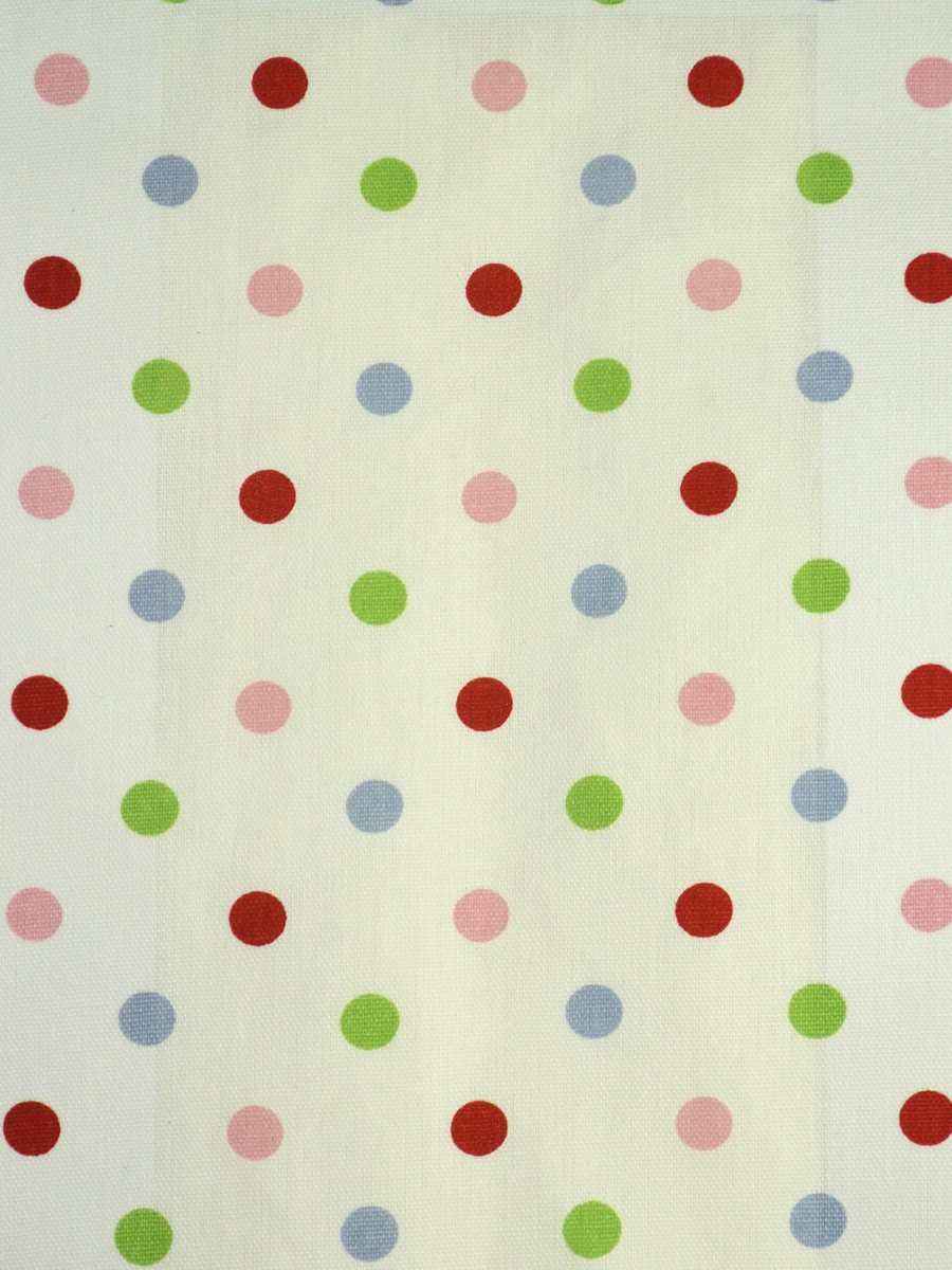 Kids Polka Dot Curtains Alamere kids house polka dot printed custom made cotton curtains sisterspd
