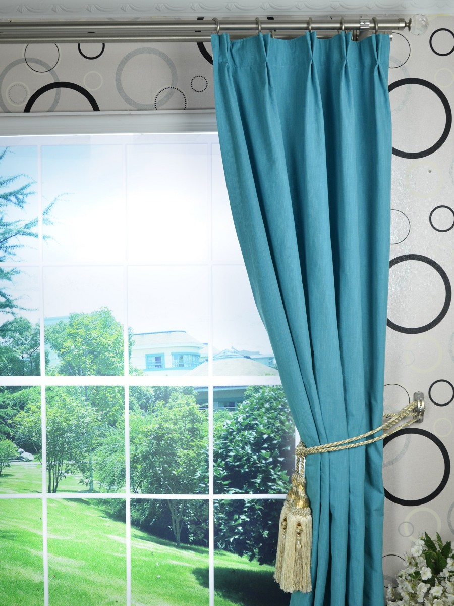 solid blackout double pinch pleat extra long curtains 108 120 inch panels cheery curtains. Black Bedroom Furniture Sets. Home Design Ideas