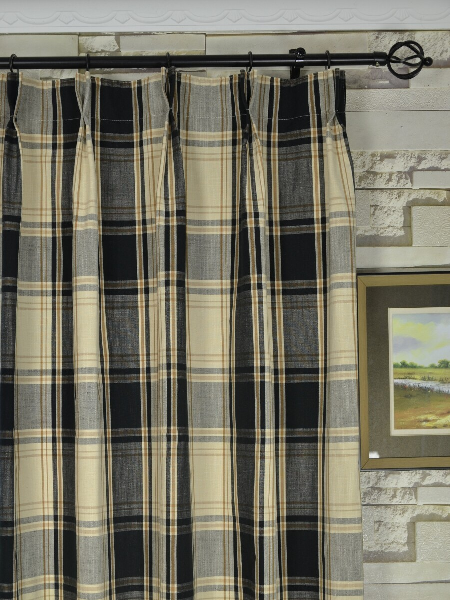 Navy curtains blackout - Blackout Curtains Ww2 Blue Striped Curtains 108 Big Plaid Blackout Double Pinch Pleat Extra Long
