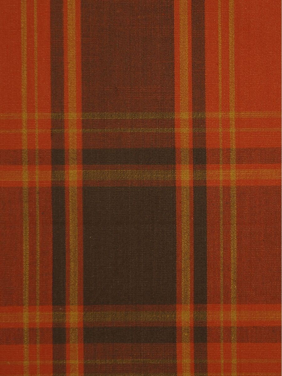 Big Plaid Blackout Double Pinch Pleat Extra Long Curtains