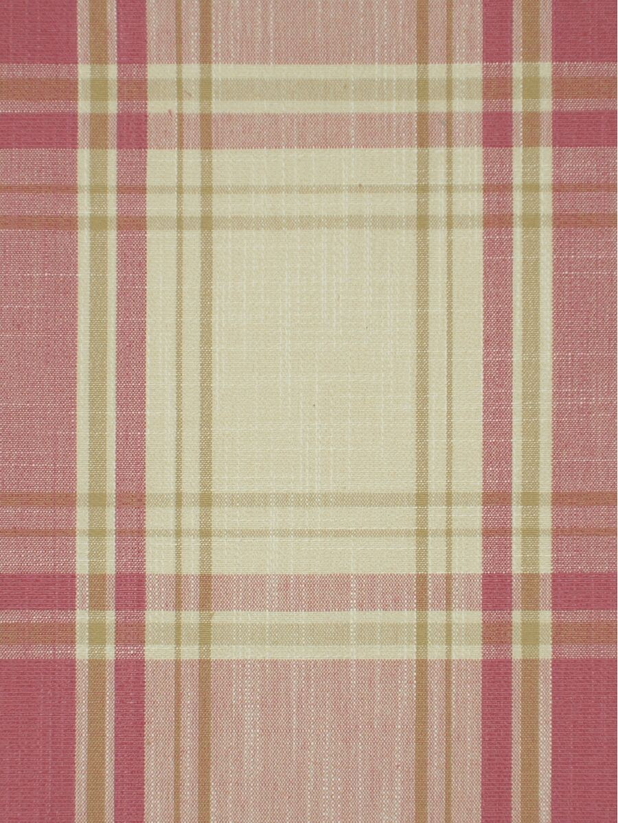 Extra Long Hudson Big Plaid Blackout Double Pinch Pleat Curtains