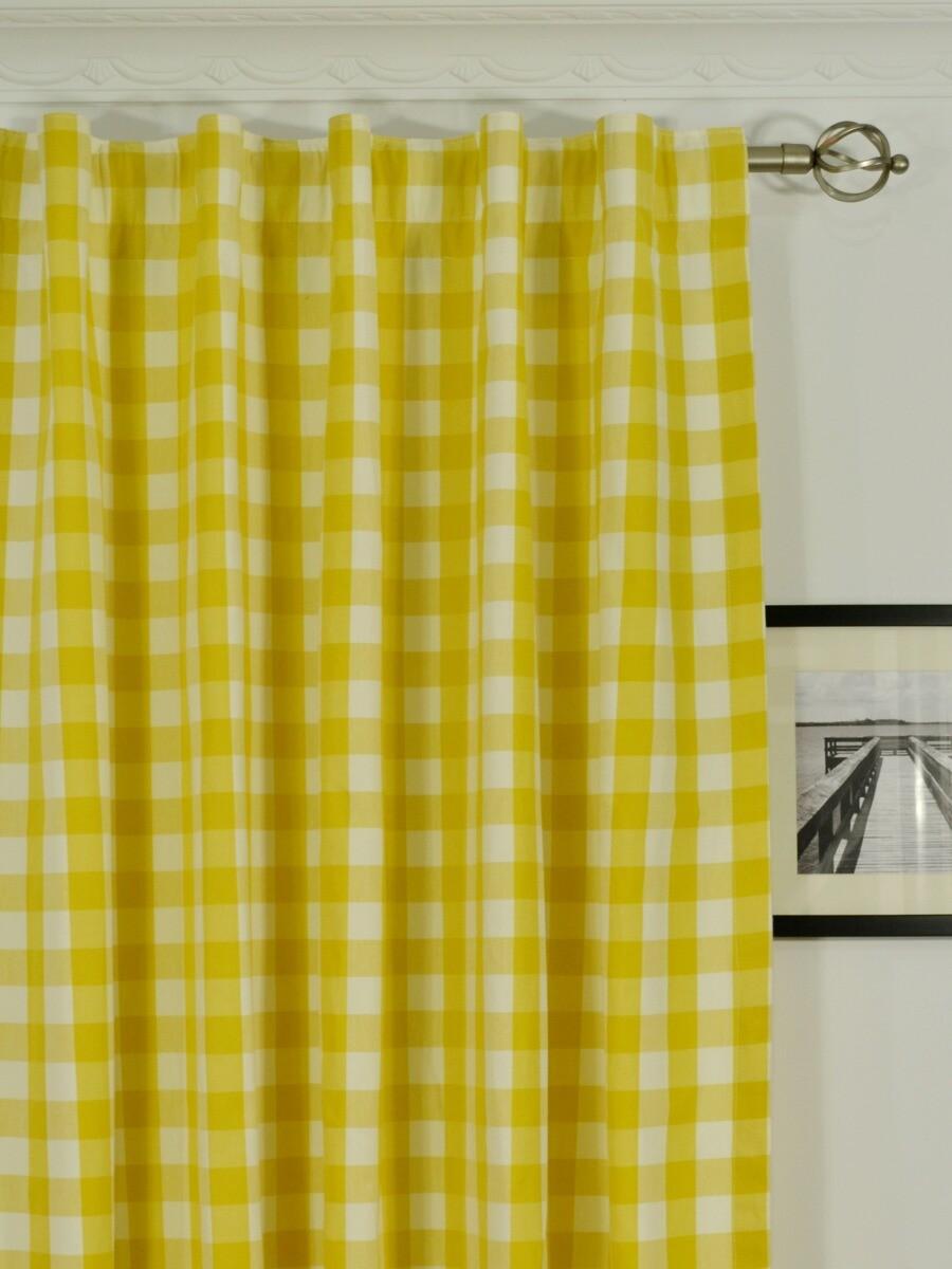 Back tab top curtains -  Moonbay Small Plaids Concealed Tab Top Curtains Heading Style Moonbay Small Plaids Concealed Tab Top Curtains Heading Style