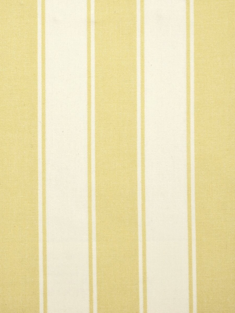 Moonbay Narrow Stripe Double Pinch Pleat Curtains Color Golden Yellow