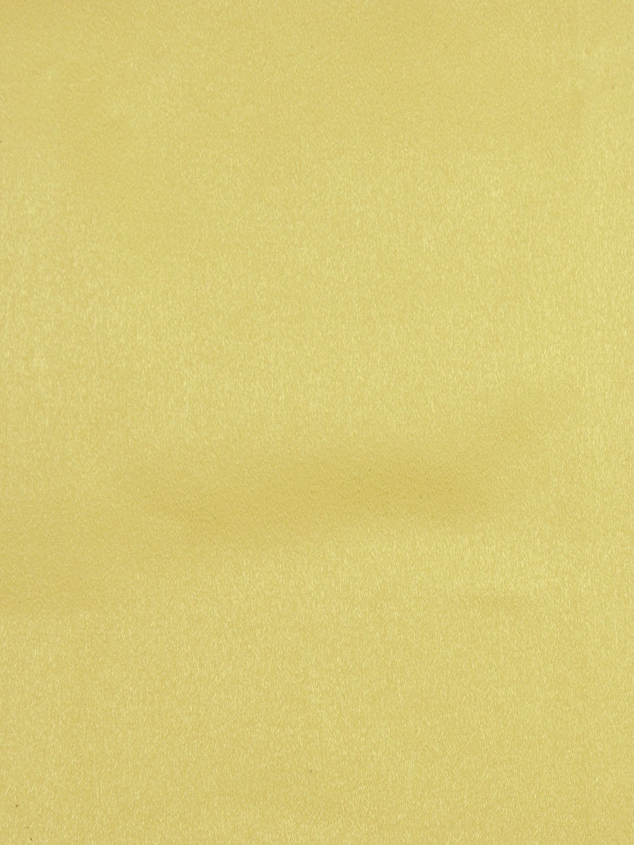 Extra Wide Swan Beige And Yellow Solid Pencil Pleat
