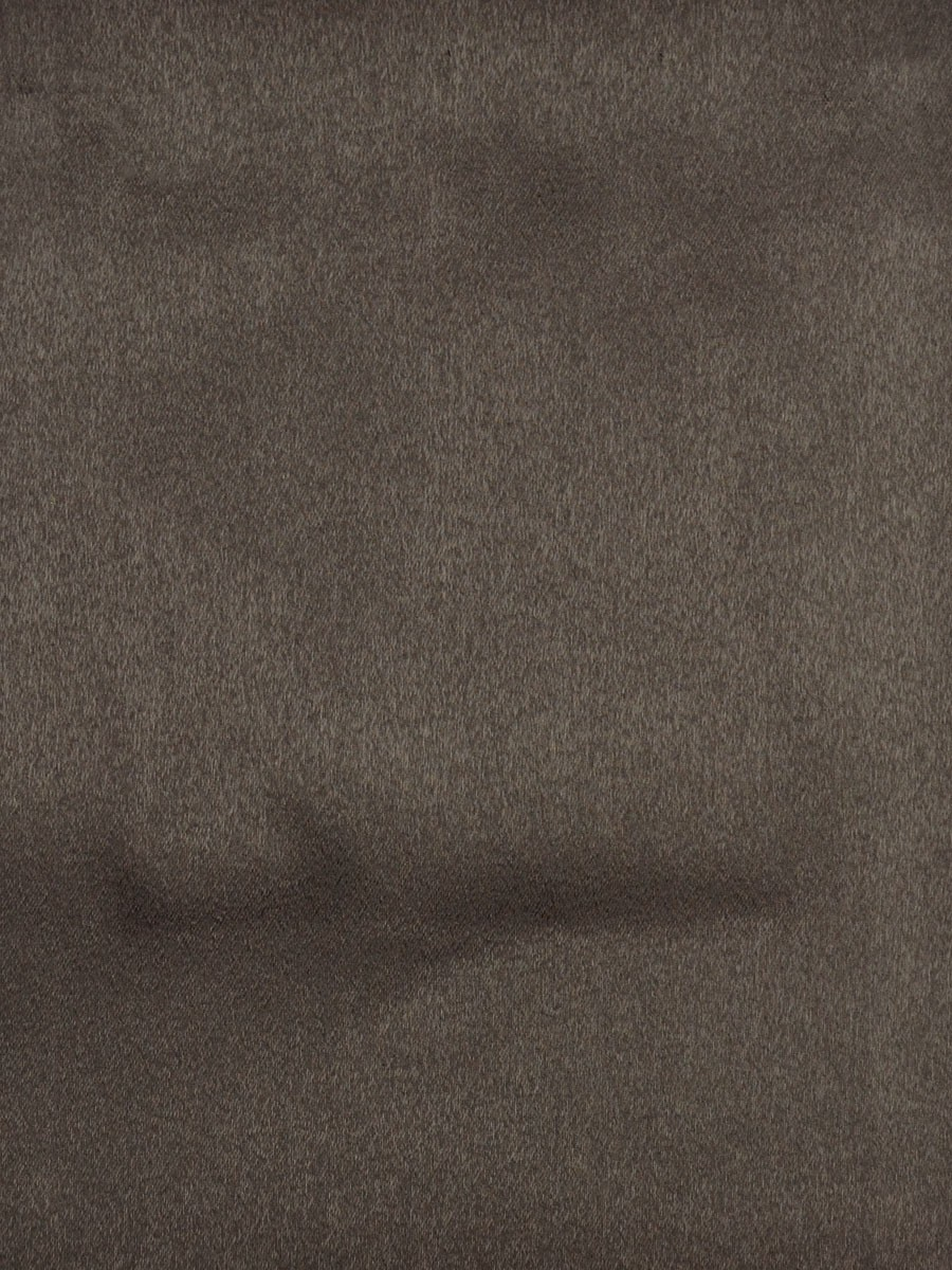 Swan Brown Color Solid Fabric Sample