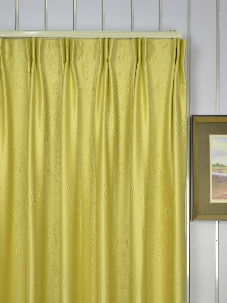 Extra Wide Swan Floral Bauhinia Versatile Pleat Curtains