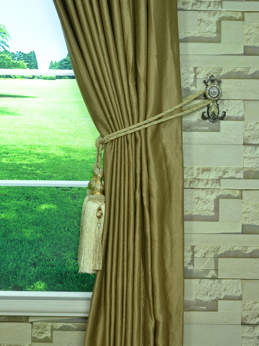 Extra Wide Swan Floral Damask Tab Top Curtains 100 120 Inch Curtain Panels
