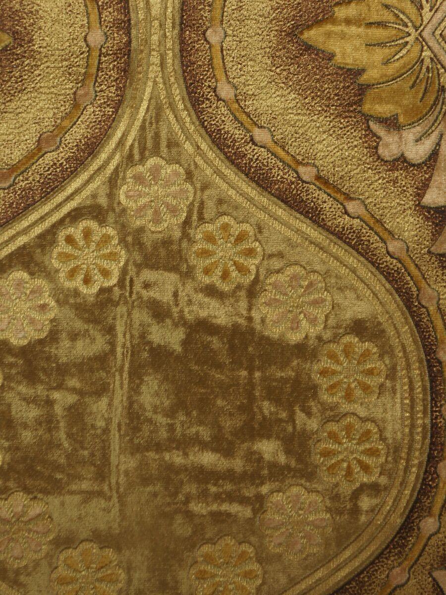 maia vintage damask versatile pleat velvet curtains color gold maia vintage damask versatile pleat velvet curtains color gold