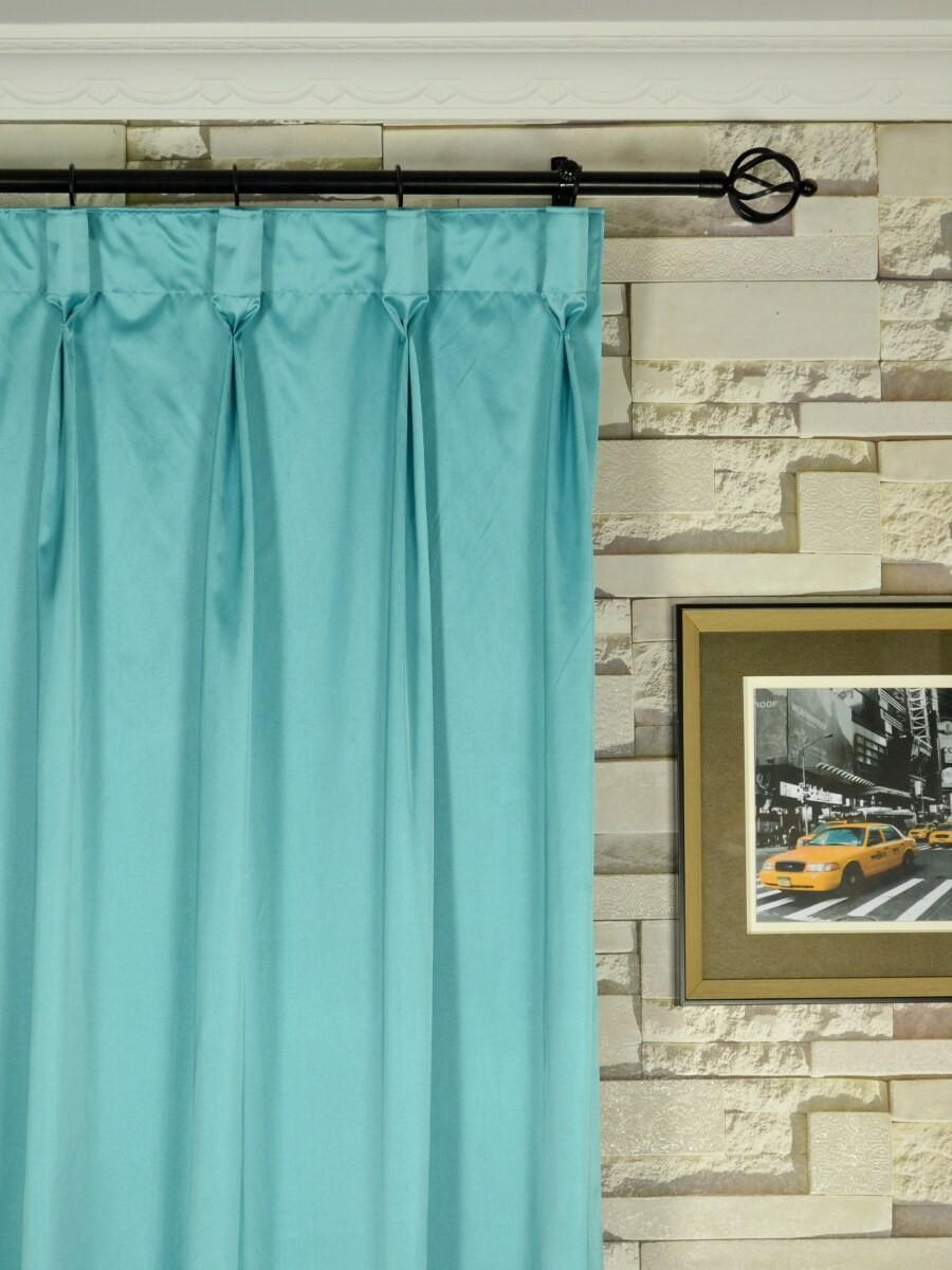 Faux silk curtains blue - Faux Silk Curtains Blue 35