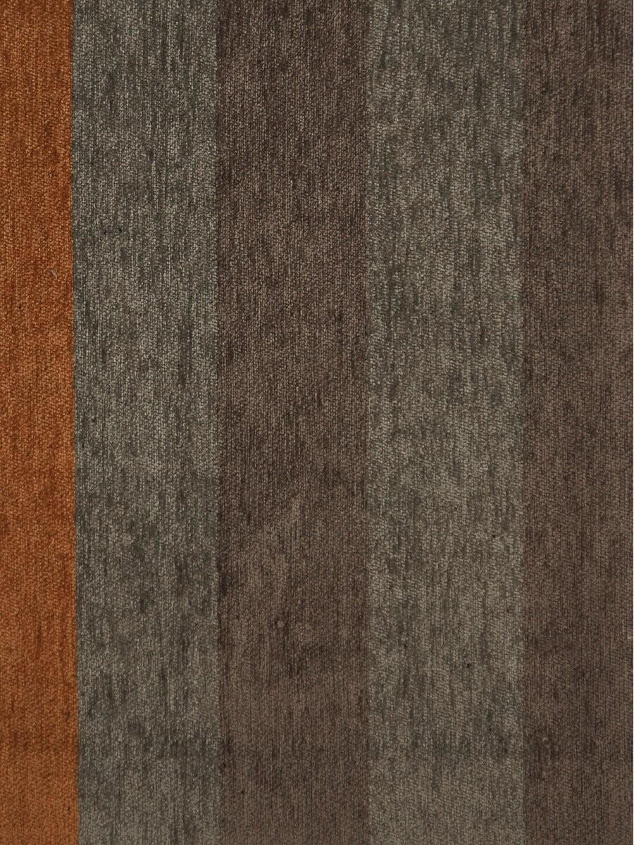 Petrel Vertical Stripe Grommet Chenille Curtains