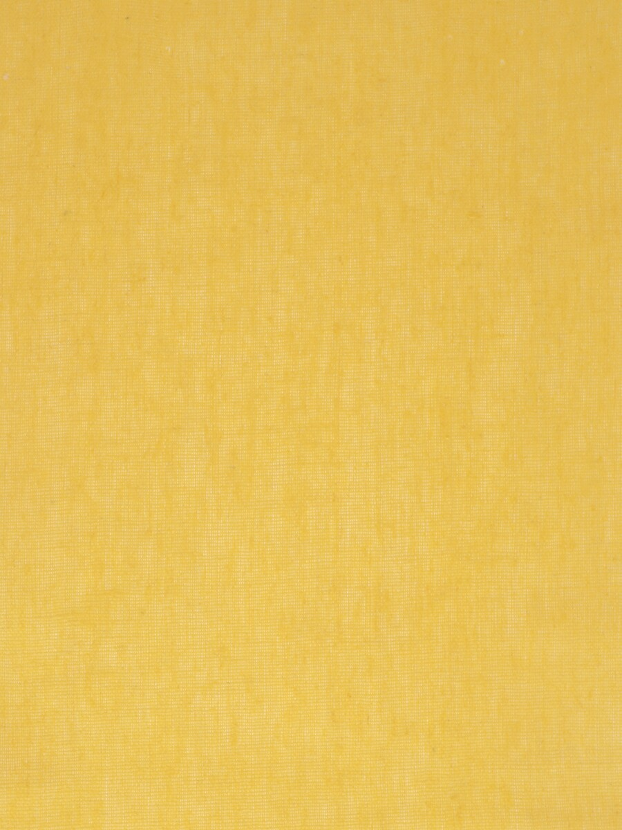 Eos Beige and Yellow Solid Linen Fabrics Per Yard