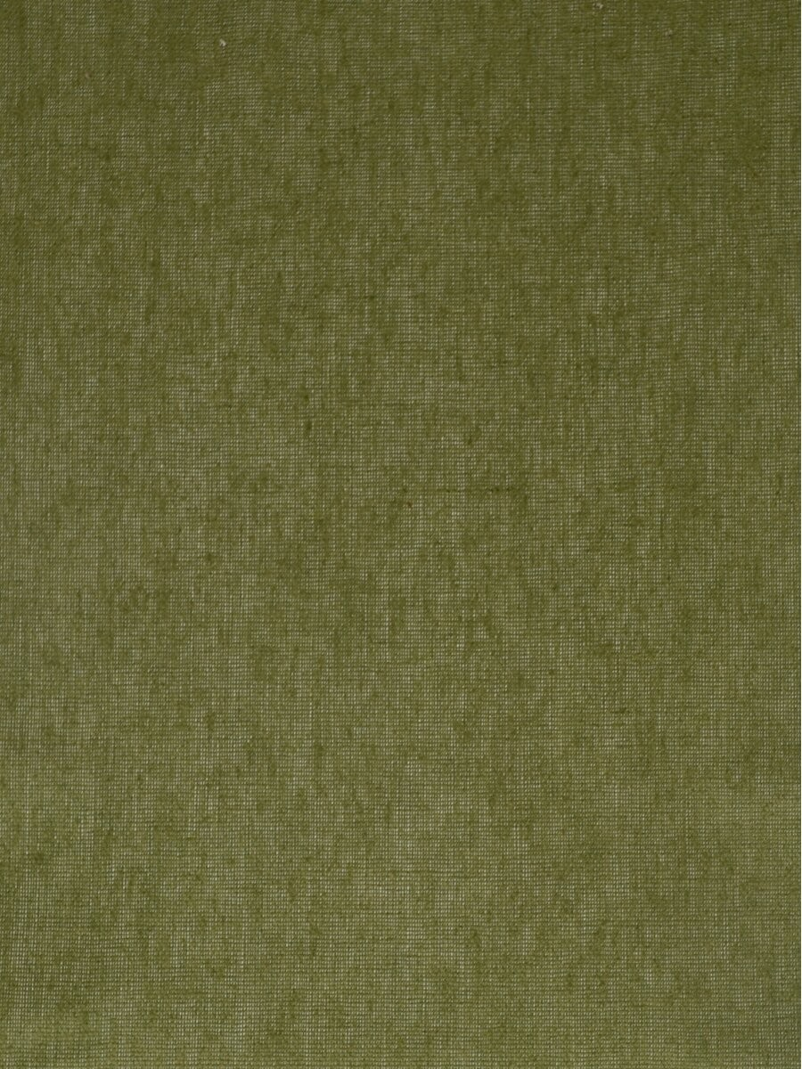 Qyk246sds Eos Linen Green Blue Solid Fabric Sample