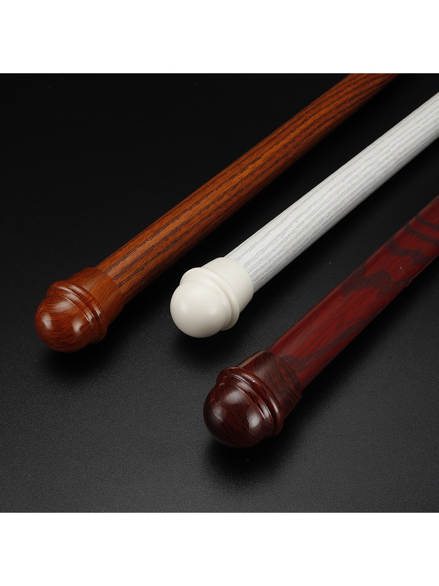 Qyt2823 1 1 8 Quot Wood Grain Nano Mute Double Curtain Rod Set
