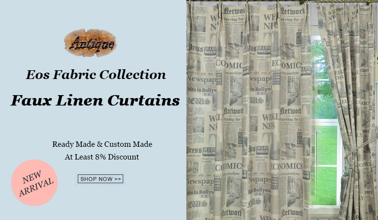 new arrivals faux linen curtains