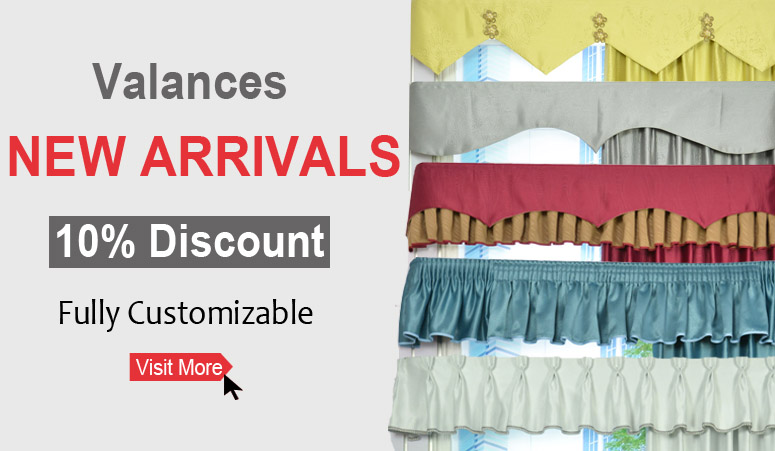 Discount Valances New Arrivals